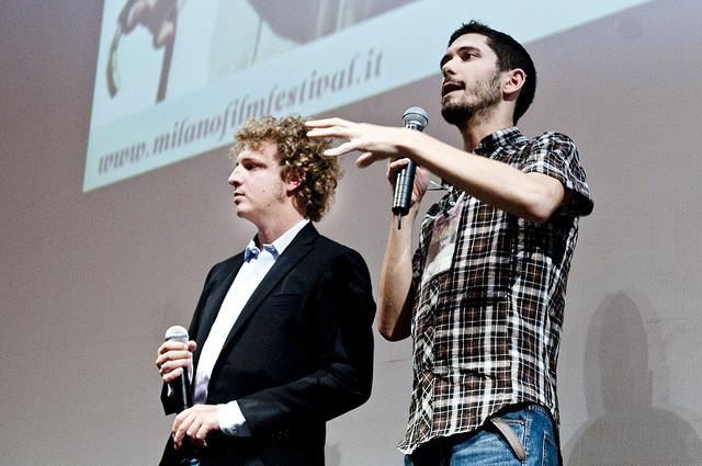 I due direttori del Festival, Alessandro Beretta (a sinistra) e Vincenzo Rossini (a destra)