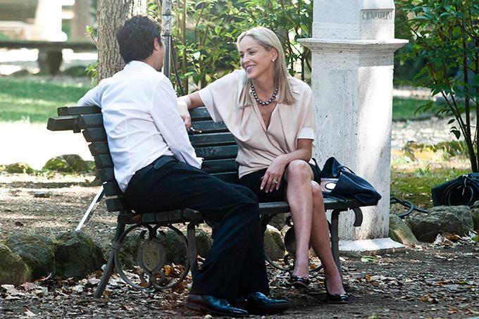 Sharon Stone è Ludovica