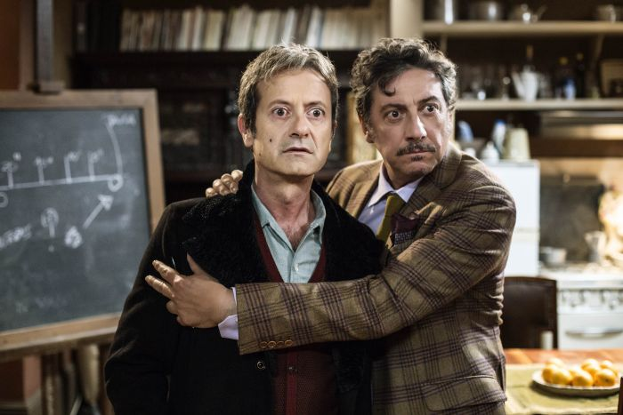 Rocco Papaleo e Sergio Castellitto