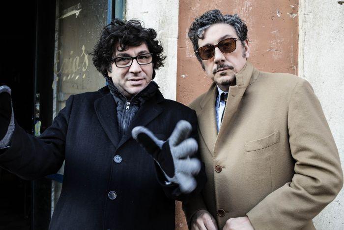 Daniele Ciprì sul set con Sergio Castellitto