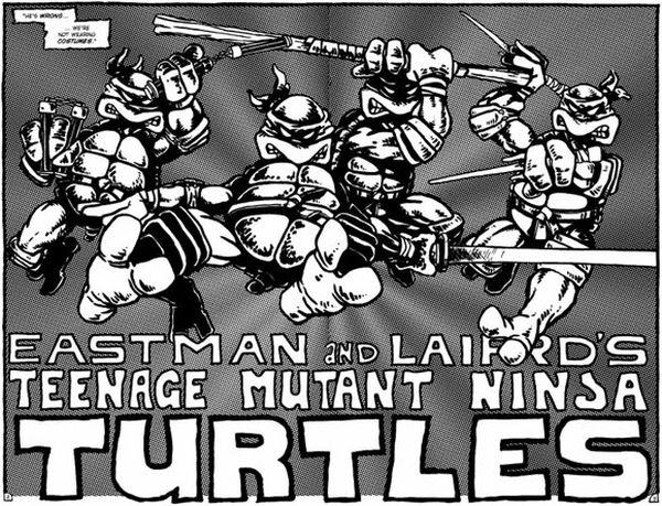 Il fumetto delle Tartarughe Ninja