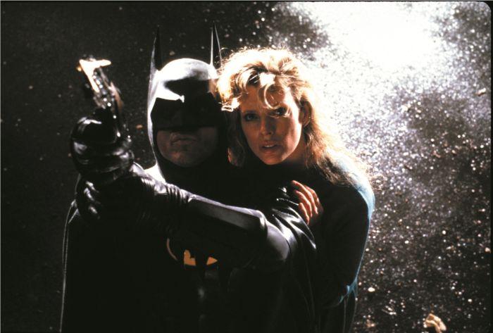 "Michael Keaton e Kim Basinger nel primo ""Batman"" (1989)"