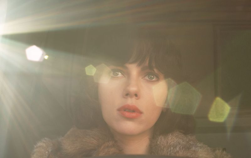"Scarlett Johansson in ""Under The Skin"""