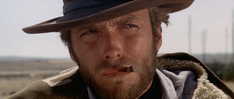 "Clint Eastwood in ""Per un Pugno di Dollari"""