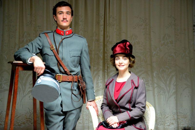 Eugenio Franceschini e Valentina Corti