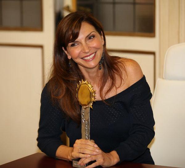 Maria Pia Calzone premiata come Migliore Attrice di Fiction