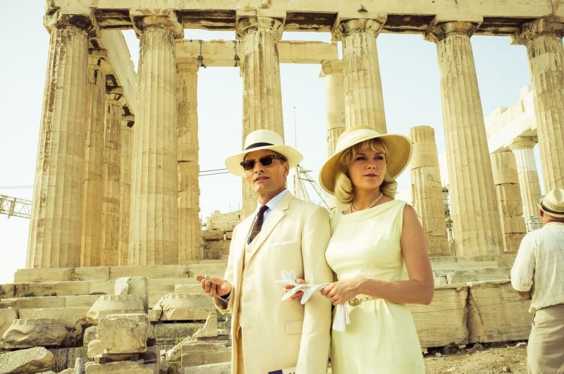 Chester e Colette ad Atene