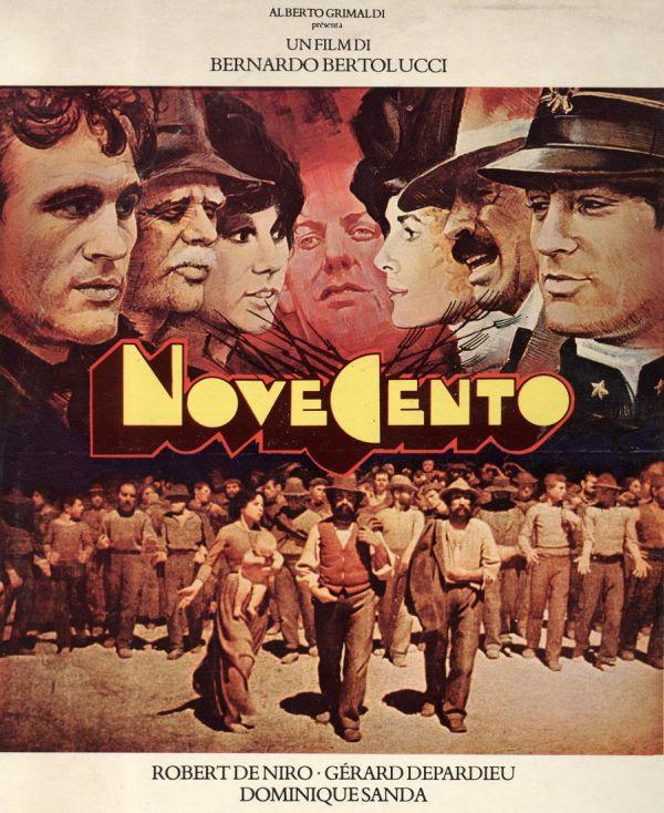 """La locandina di """"Novecento"""""""