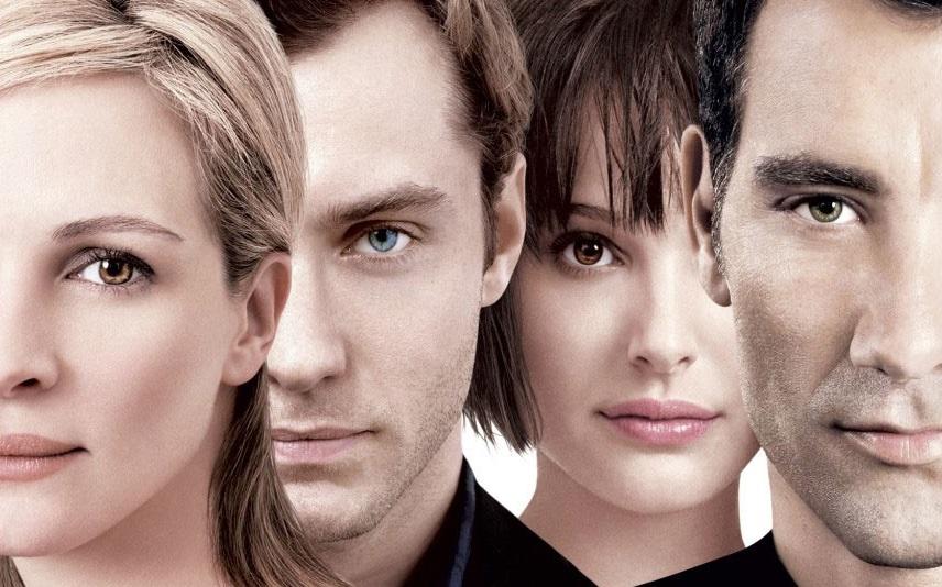 """I quattro protagonisti di """"Closer"""" (2004)"""
