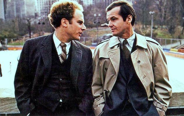 "Art Garfunkel e Jack Nicholson in ""Conoscenza Carnale"" (1971)"