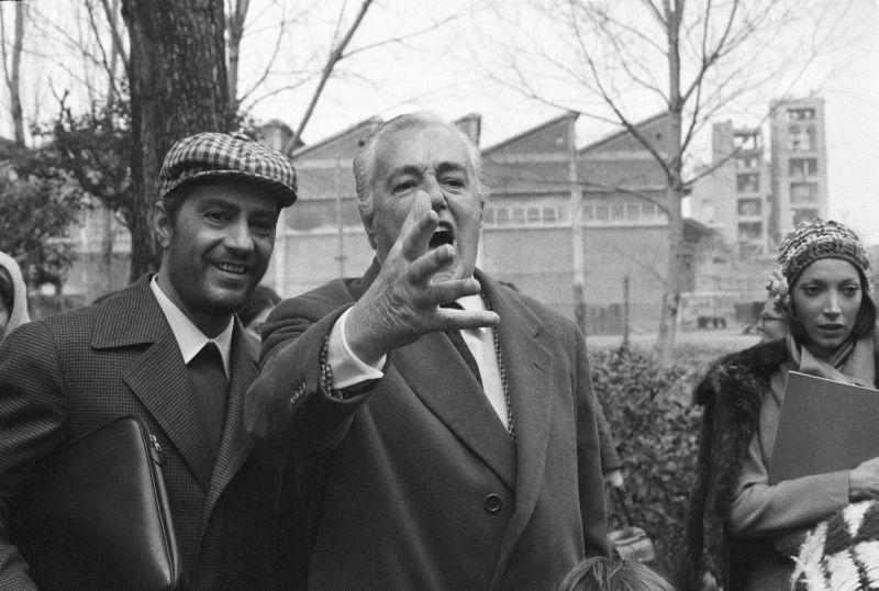 """Con Vittorio De Sica e Mariangela Melato sul set di """"Lo Chiameremo Andrea"""""""