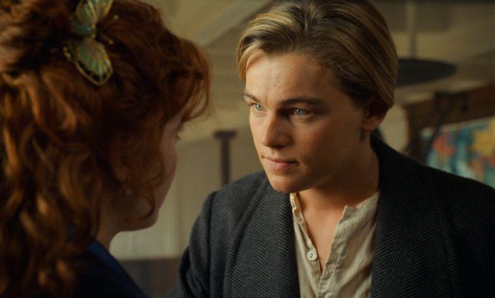 "Nei panni di Jack Dawson in ""Titanic"""