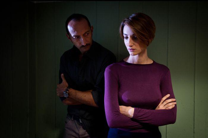 Vincenzo De Michele con Francesca Inaudi