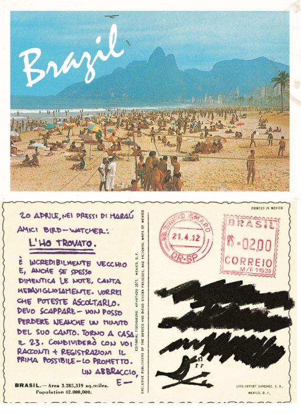 cartolina brasile