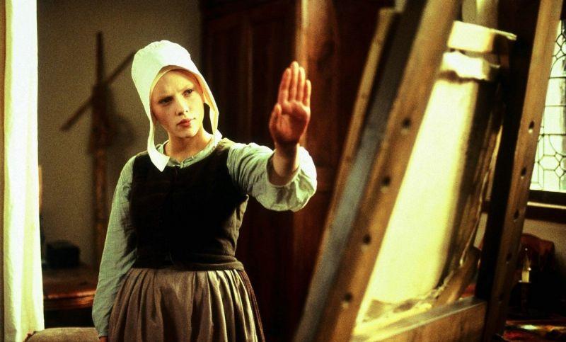 """Nel film in  costume """"La Ragazza con l'Orecchino di Perla"""""""