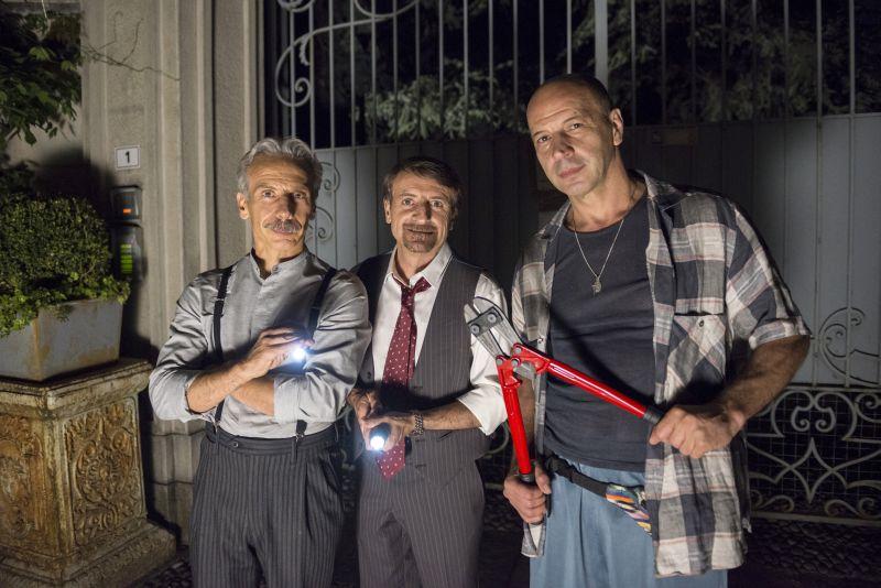 Aldo, Giovanni e Giacomo (foto di Masiar Pasquali)