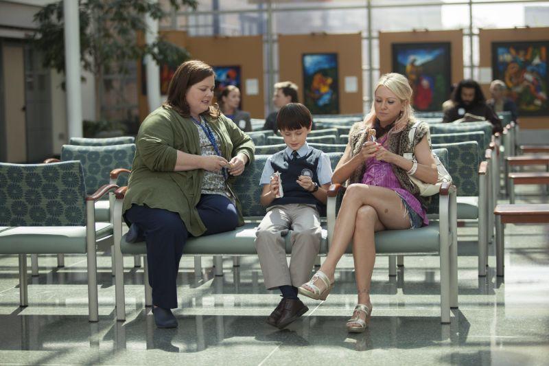 Melissa McCarthy, Jaeden Lieberher e Naomi Watts