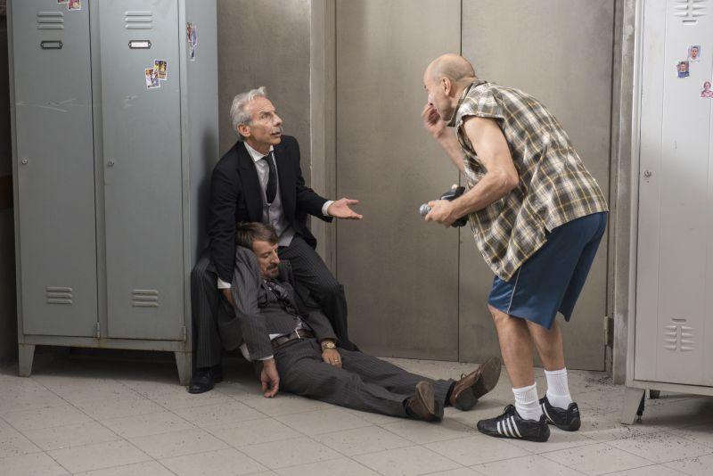 """Una scena di """"Il Ricco, il Povero e il Maggiordomo"""" (foto di Masiar Pasquali)"""