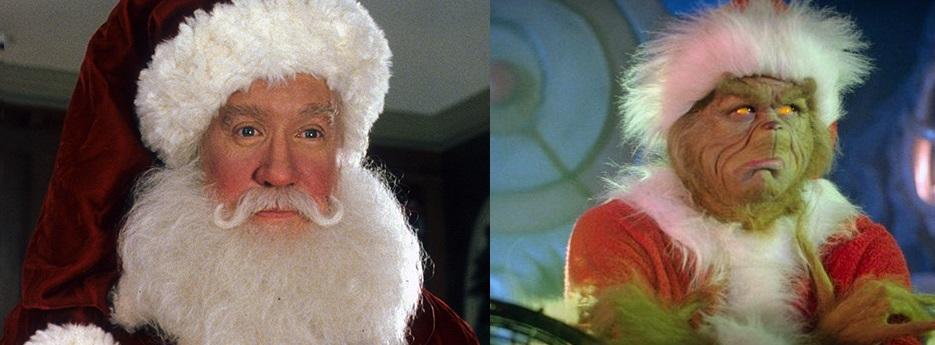 Il Babbo Natale da ridere: Tim Allen e Jim Carrey