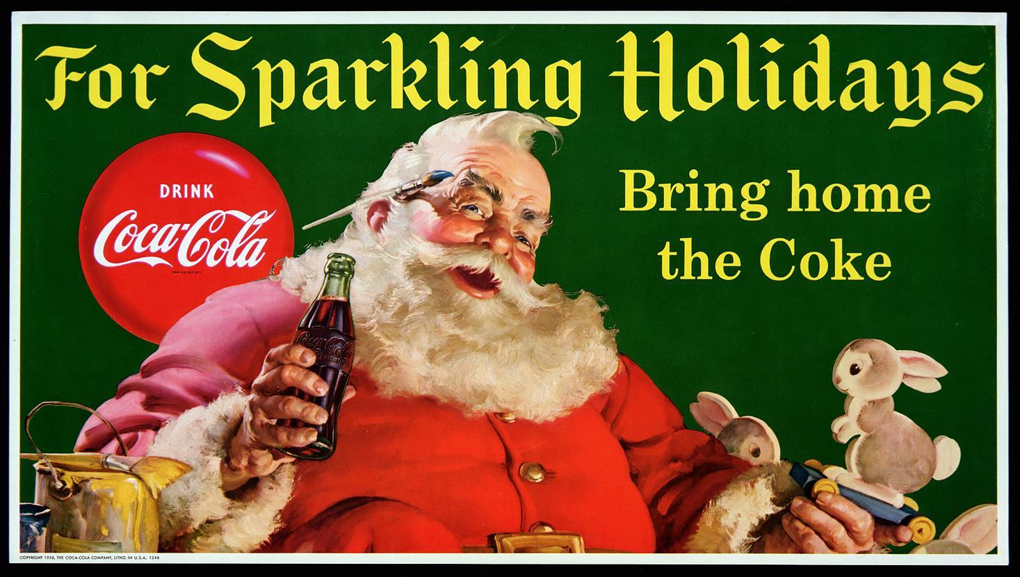 Una pubblicità della Coca Cola del 1931