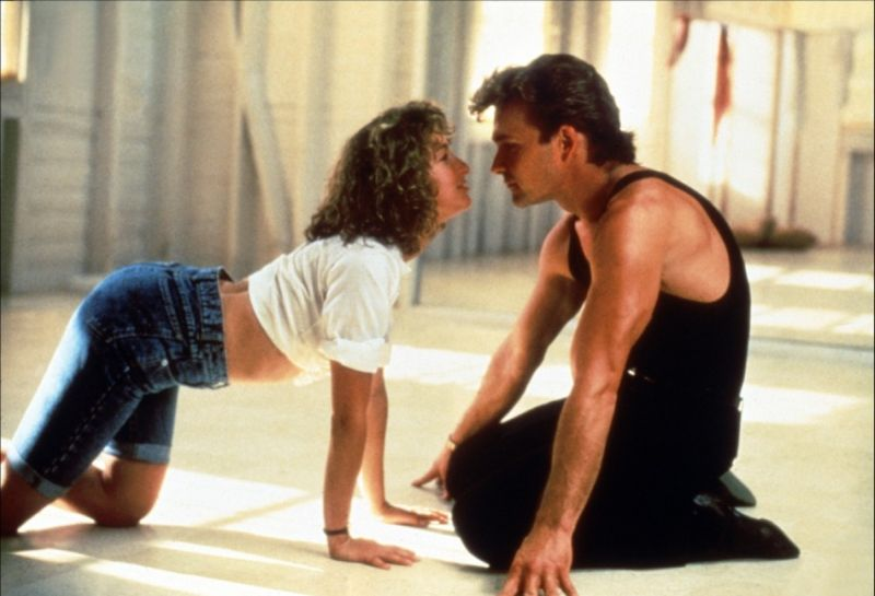Jennifer Grey e Patrick Swayze nel film cult del 1987