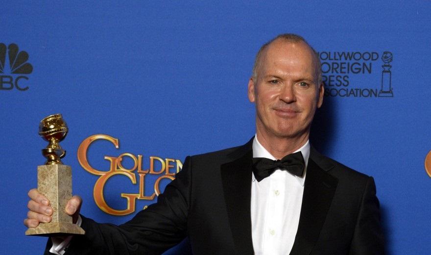 """Michael Keaton, Golden Globe per """"Birdman"""""""