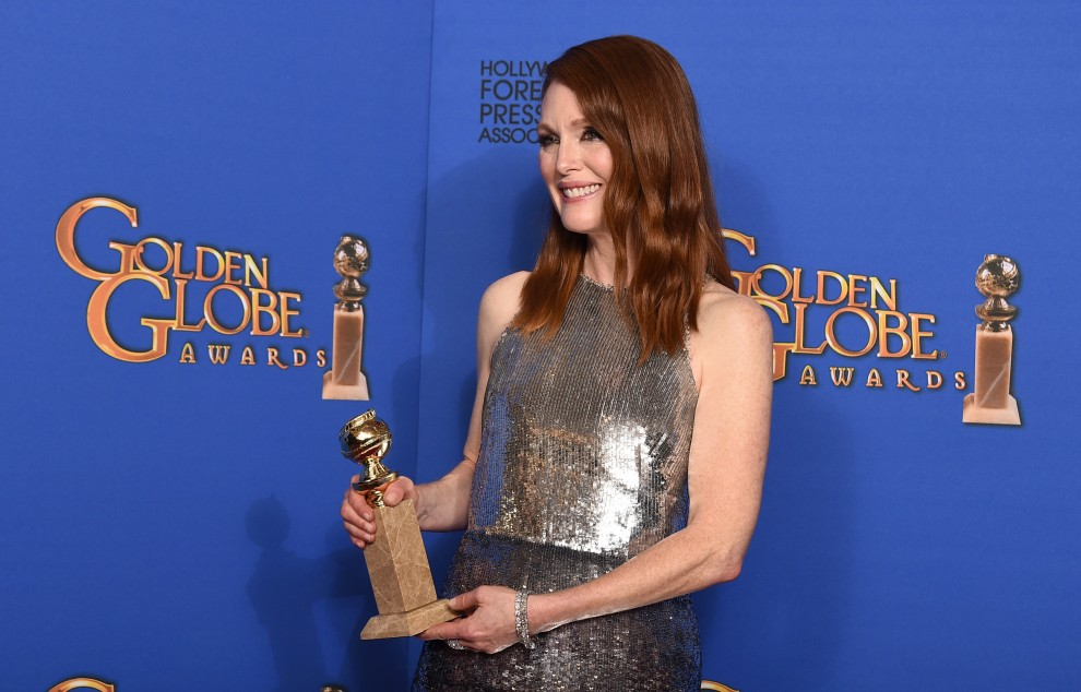 "Julianne Moore premiata per ""Still Alice"""