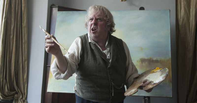 Un ispirato Timothy Spall nei panni di Mr Turner