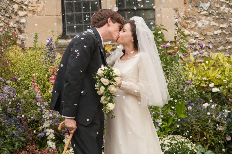Stephen e Jane si sposano