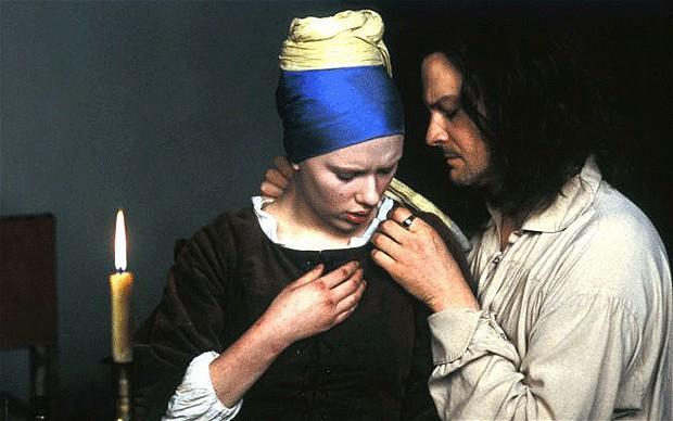 Scarlett Johansson e Colin Firth nel film di Peter Webber