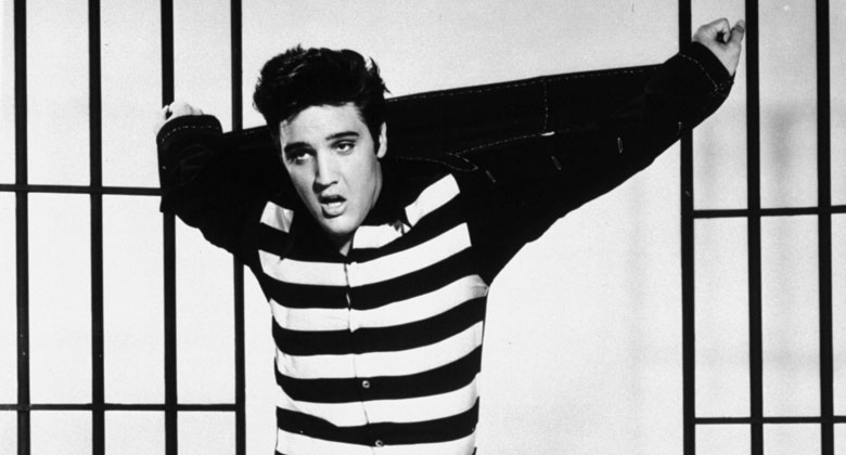 "Elvis in ""Jailhouse Rock"""