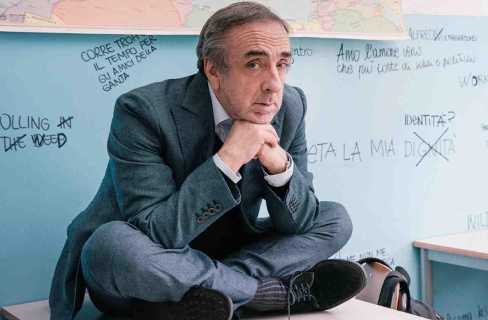 """Il """"Professore"""" Silvio Orlando"""