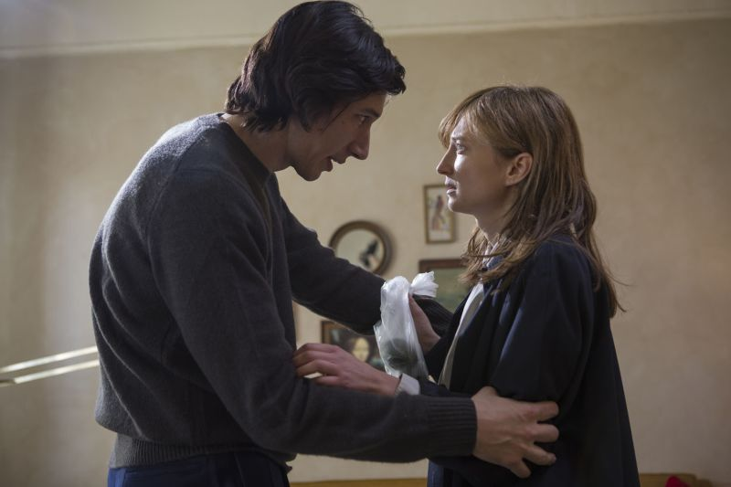 Adam Driver e Alice Rohrwacher