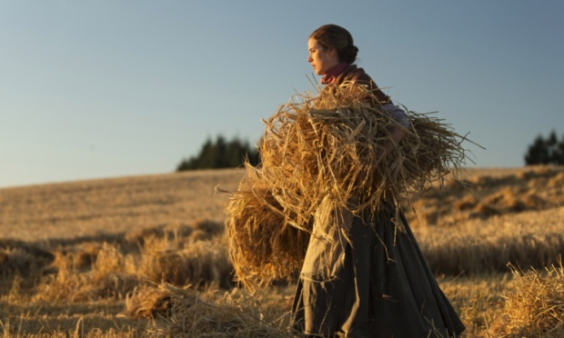 "Agyness Deyn in ""Sunset Song"""