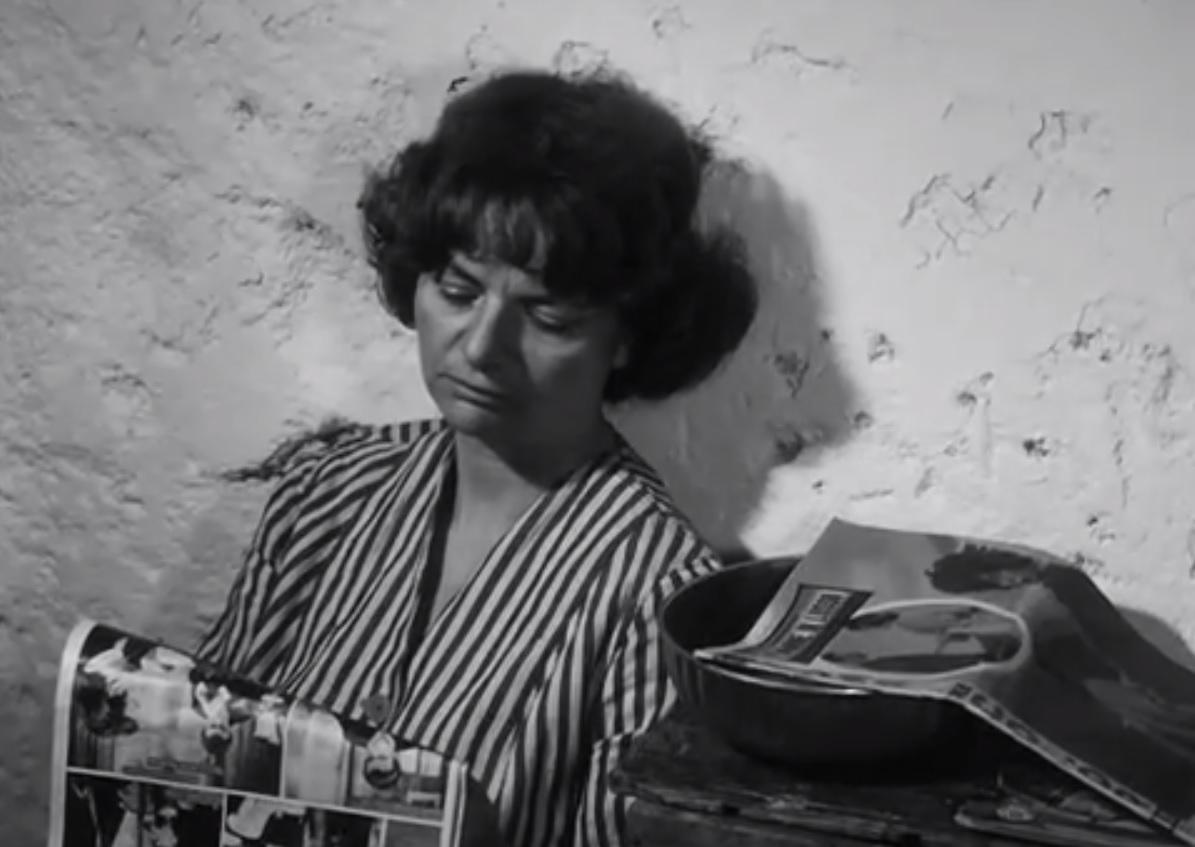 """Elsa Morante interpreta Alina in """"Accattone"""" di Pier Paolo Pasolini (1961)"""