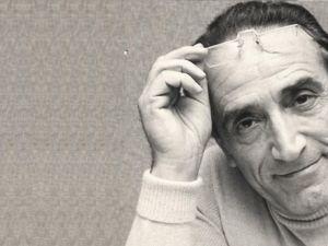 Arnoldo Foà (foto di Gino Baldan, Liverani Milano)
