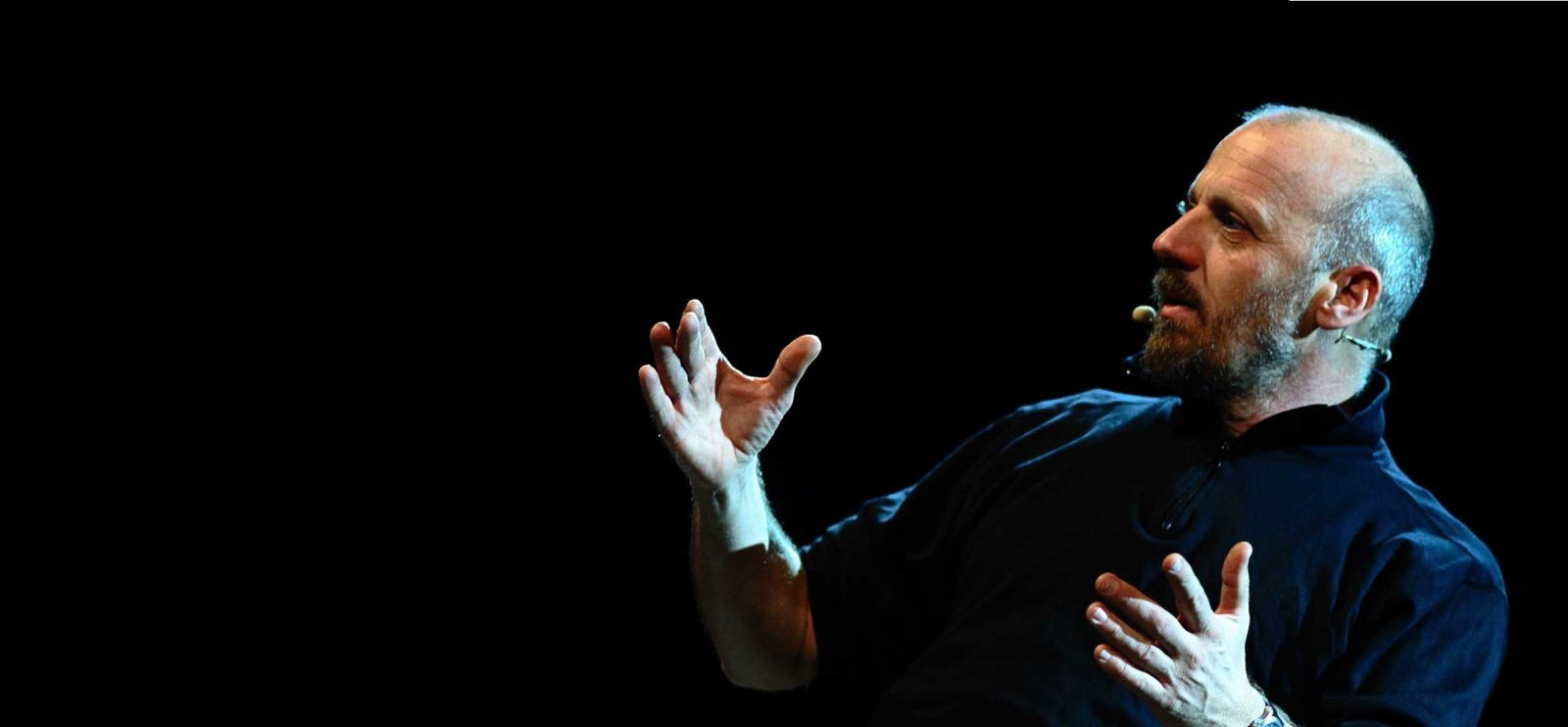 Marco Paolini (Foto Tommaso Savoia)