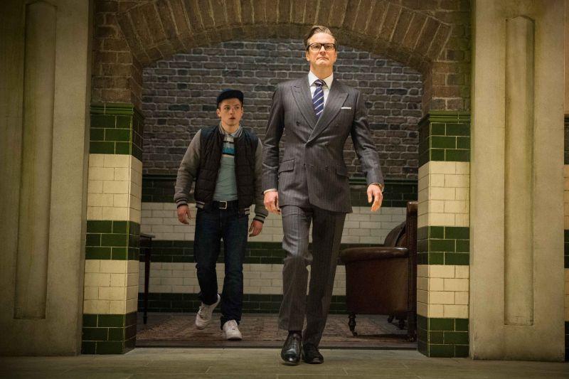 Taron Egerton e Colin Firth