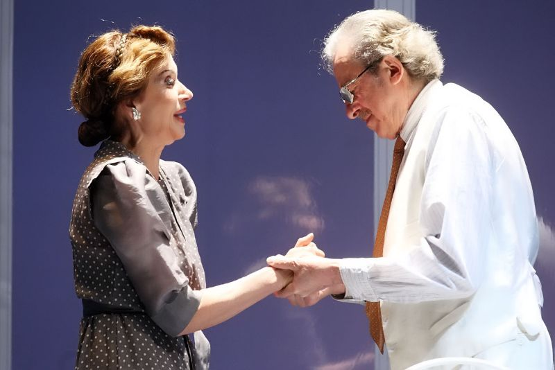 Anna Teresa Rossini e Mariano Rigillo