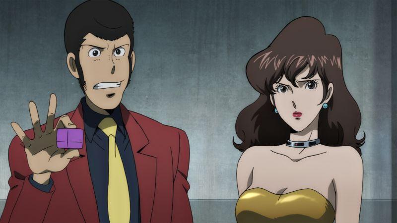Lupin e FujiKo