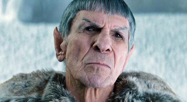 Un anziano Spock