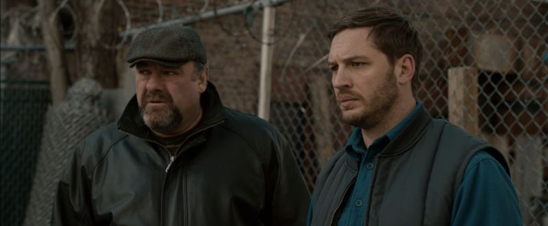 James Gandolfini con Tom Hardy