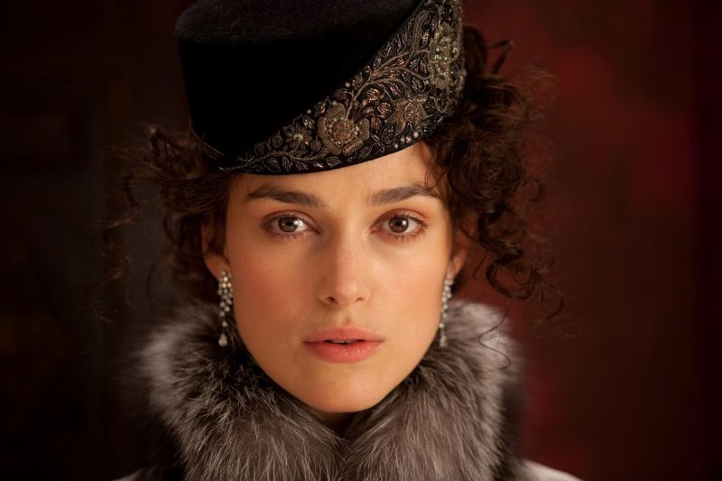 "Intensa e formidabile in ""Anna Karenina"""