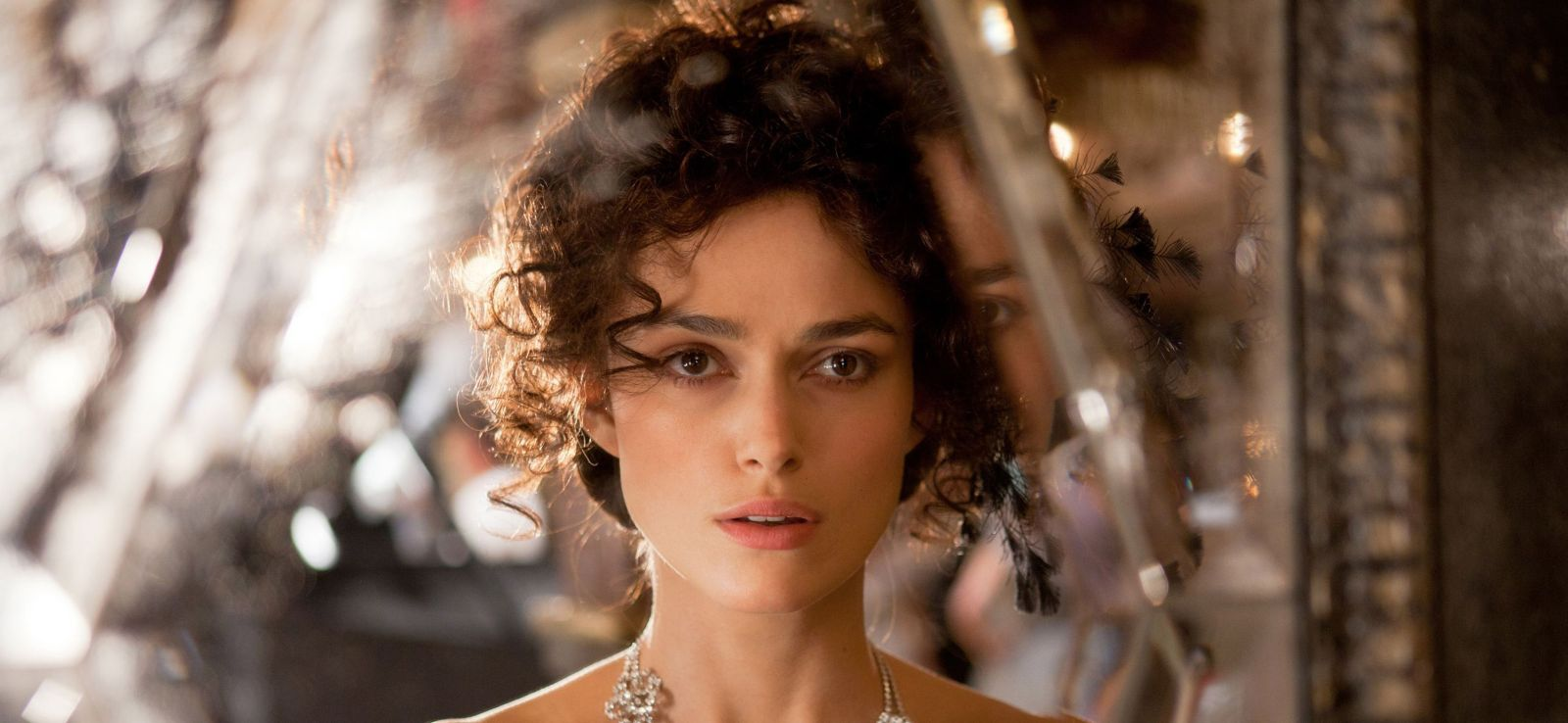 Keira Knightley is the adulterous Anna Karenina in director Joe Wright