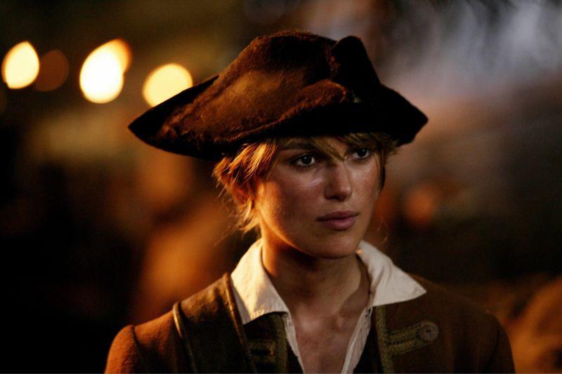 """Nella parte di Elizabeth Swann ne """"I Pirati dei Caraibi"""""""