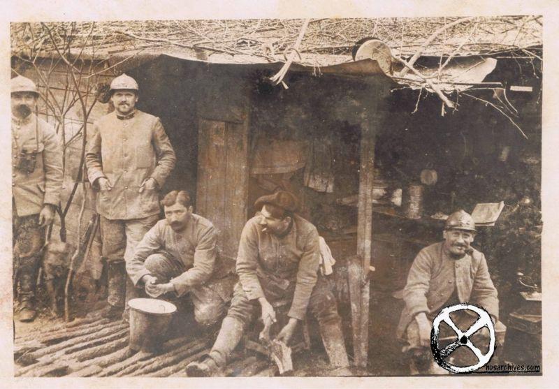Soldati a Verdun, 1916