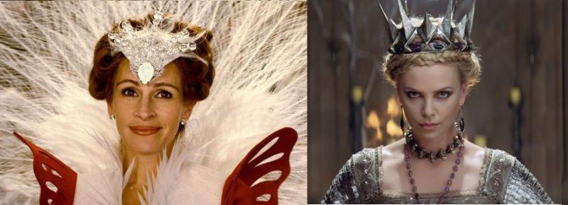 Julia Roberts e Charlize Theron