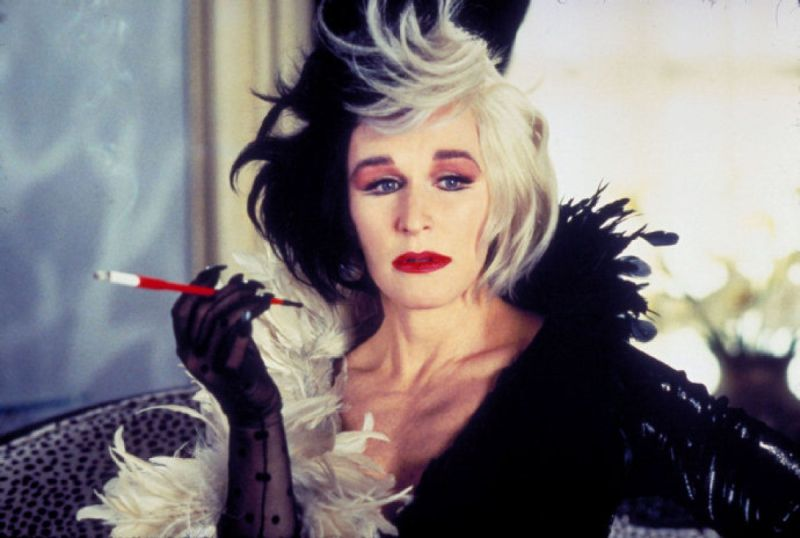 "Glenn Close è Crudelia Demon in ""La Carica dei 101"""