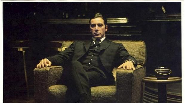 """Nei panni di Corleone ne """"Il Padrino"""""""