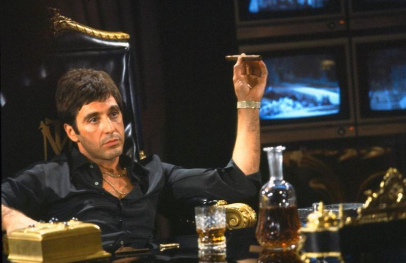 "In ""Scarface"" è Tony Montana"